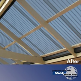 SSAF Sunblock Grey for Polycarbonate Roll