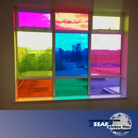 SSAF Window Transparent Colour Film