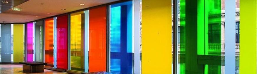 Coloured Transparent Films.
