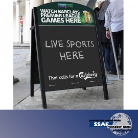 SSAF Large Steel Premier Chalk Board