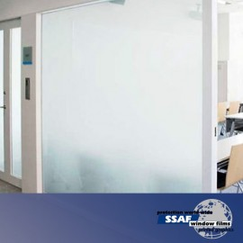 SSAF White Matt Opaque Window Film